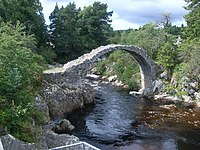 Old Packhorse Bridge at Carrbridge - geograph.org.uk - 1480809.jpg