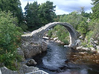 Old Bridge over River Dulnain