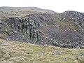 Old quarry on Birkett Bank - geograph.org.uk - 1135653.jpg