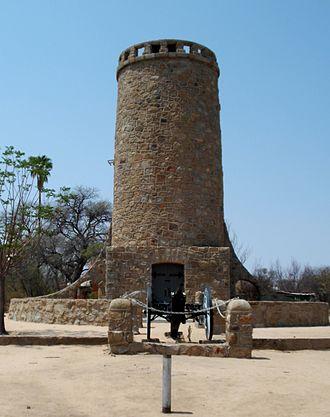 Victor Franke - Franke Tower in Omaruru (2016)