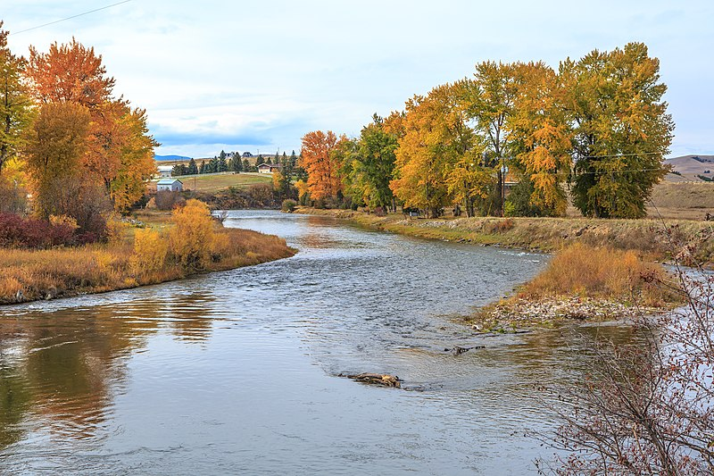File:On Gold creek near Drummond, Montana (11226615933).jpg