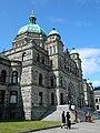One edge of BC Parliament Building - panoramio.jpg