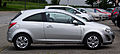 Opel Corsa 1.4 ecoFLEX Satellite (D, Facelift) – Seitenansicht, 31. Juli 2012, Heiligenhaus.jpg