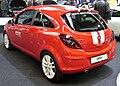 Opel Corsa D Colour Stripes Facelift Heck.JPG