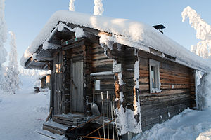 Open Wilderness Hut in the Riisitunturi national park, Riisitunturi national park.jpg