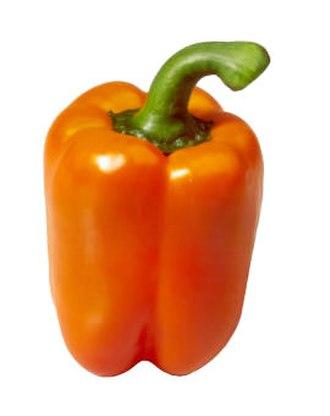 Bell pepper - Image: Oranje paprika