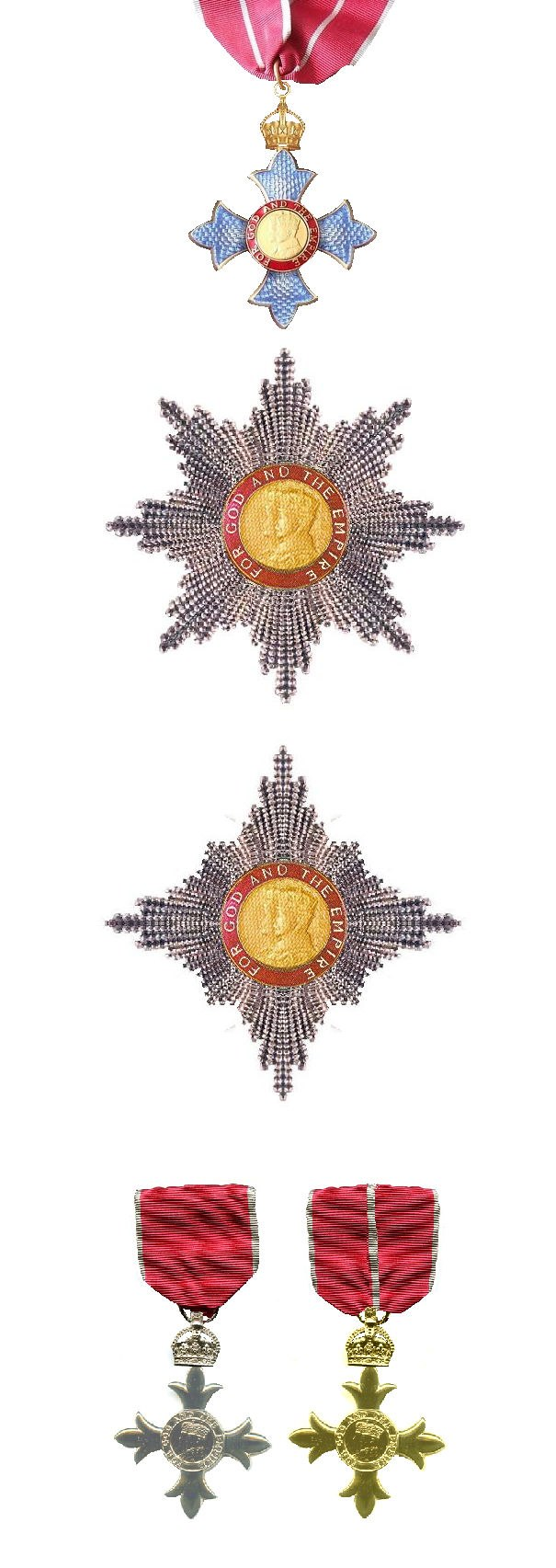 Order of the British Empire Insignia