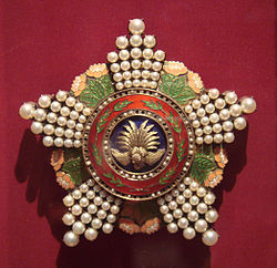 Order of the Precious Crown end of 19th century Japan.jpg