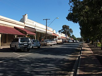 Orroroo, South Australia - The main street of Orroroo