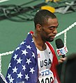 Osaka07 D6A Tyson Gay interview.jpg