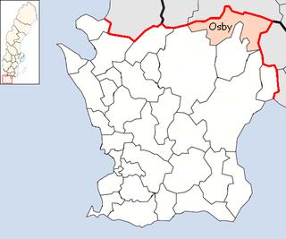 Osby Municipality Municipality in Skåne County, Sweden