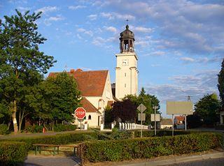 Osie Village in Kuyavian-Pomeranian, Poland