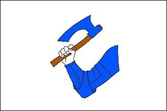Ostroměř - Image: Ostroměř vlajka