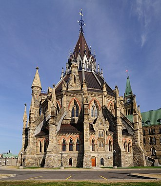 Library of Parliament - Image: Ottawa ON Library of Parliament