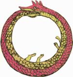 Symbolique des nombres et principes premiers 150px-Ouroboros