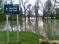 Ouse flooding in the car park - geograph.org.uk - 670847.jpg