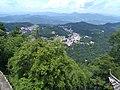 Overlooking Jiuhua Town from Baisui Palace 06.jpg