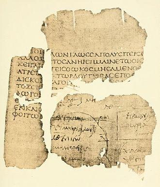 Oxyrhynchus Papyri - P. Oxy. 20, verso