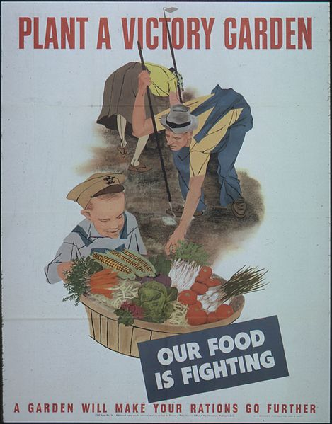 File:PLANT A VICTORY GARDEN. OUR FOOD IS FIGHTING - NARA - 513818.jpg