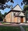PL - Sarnów (powiat mielecki) - kościół Najświętszego Serca Pana Jezusa - Kroton 002.jpg