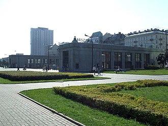 Warszawa Śródmieście railway station - Image: POL Warsaw Warszawa Śródmieście station