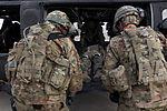 PRT Farah conducts medical evacuation training with Charlie Co., 2-211th Aviation Regiment at Forward Operating Base Farah 130109-N-IE116-306.jpg