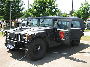 Counter-Terrorist Unit (Serbia) - PTJ Humvee
