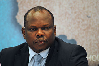 Pagan Amum South Sudanese politician, Minister of Peace