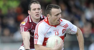 Paddy Bradley - Bradley in action against Galway in a 2009 National League game