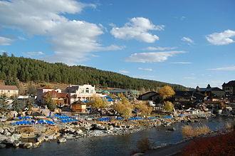 Pagosa Springs, Colorado - Image: Pagosa Springs The Springs Resort and Spa 2012 10 24