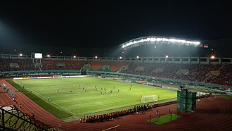 Pakansari Stadium - Image: Pakansari Asian Games 2018