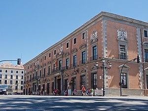 Cristóbal de Sandoval, Duke of Uceda - Palace of the Duke of Uceda or Palace of los Consejos, in Madrid