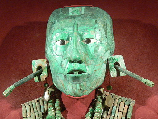 Palenque - Maske des Pakal