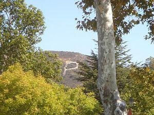 "San Marcos, California - ""P"" on hillside above Palomar College"