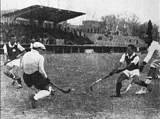 Apostolos Nikolaidis Stadium - Field hockey in Leoforos, 1927