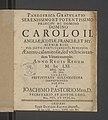 Panegyrica Gratvlatio Serenissimo Et Potentissimo Principi Ac Domino Domino Carolo II 1661 (108290665).jpg