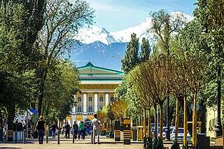 Almaty City in Kazakhstan