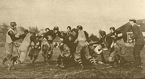 Columbus Panhandles - The Columbus Panhandles playing a game during the 1910s at Indianola Park.