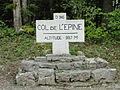 Panneau au sommet du col de l'Epine.JPG