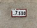 Panonceau PK 7,530 Route N79 Route Bourg St Jean Veyle 2.jpg