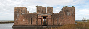 Fort Proctor - Panorama of Fort Proctor