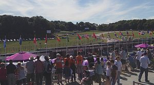 2012 Summer Paralympics - The Brands Hatch circuit hosted road cycling during the Paralympics.