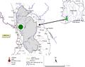 Parasite140080-fig1 Gastrointestinal parasites in seven primates of the Taï National Park - Map.png