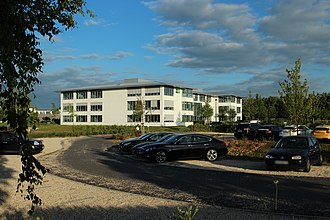 Europcar - Europcar head office in Voisins-le-Bretonneux, France