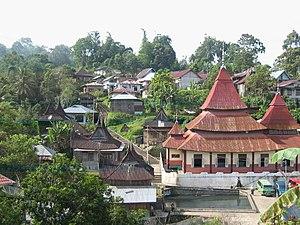 Village of Pariangan in West Sumatra