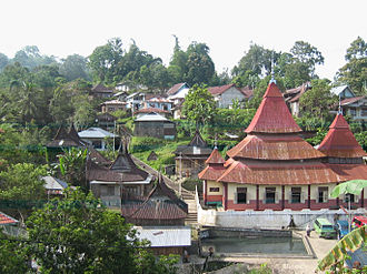 Administrative village - The nagari of Pariangan, West Sumatra.