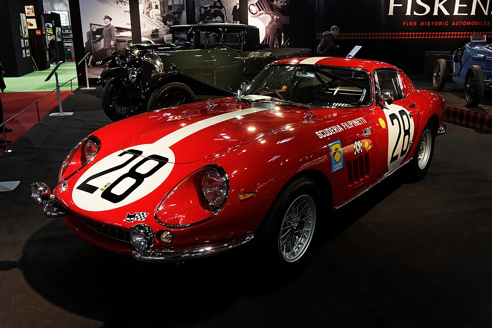 Paris - Retromobile 2013 - Ferrari 275 GTB C - 1966 - 003