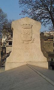 Paris 14e - Cimetière Montparnasse - caveau Paris.jpg