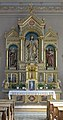 Parish church - Sacred Heart altar Urtijei.JPG
