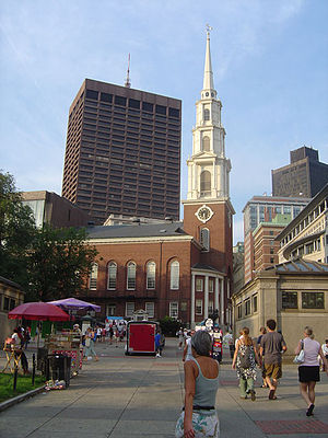 Park Street Church - Park Street Church, Boston, 2006